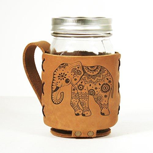 Elephant Leather Sleeve Holder Hugger product image