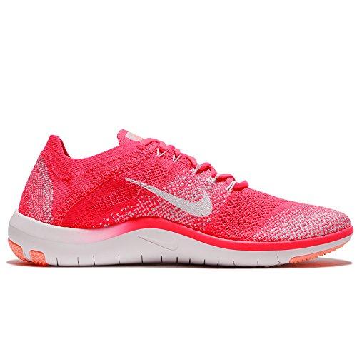 Nike Flyknit Focus Gratuit 2 Femmes Chaussures De Sport Formation Textile Rose 6.5