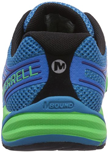 Merrell BARE ACCESS 4 - Zapatillas para hombre Mehrfarbig (RACER BLUE/BRIGHT GREEN)