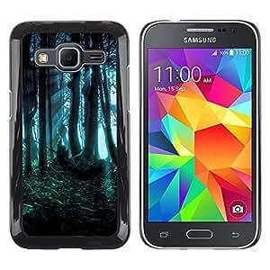 Stuss Case / Funda Carcasa protectora - Forest Dark Fairy Mysterious Nature Summer - Samsung Galaxy Core Prime SM-G360