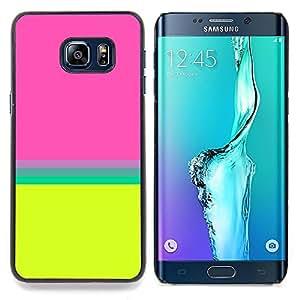 """Planetar ( Azul Crayon fusión del color del arco iris"""" ) Samsung Galaxy S6 Edge Plus / S6 Edge+ G928 Fundas Cover Cubre Hard Case Cover"""