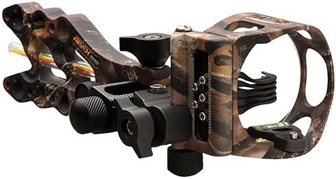 APEX GEAR Game Changer 5-Pin Sight .019 LOST Camo