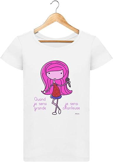 ArteCita - Camiseta de algodón orgánico para Mujer, diseño con ...