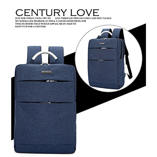 Zaino Leggero Scuola Blue Onesize Per Sottile Business Uomini Adatta Laptop Zaino 13 Si Professionale Notebook Inch Borsa Impermeabile Blue Zaino Donne Le Borsa Portatile 8wfxSdqxP