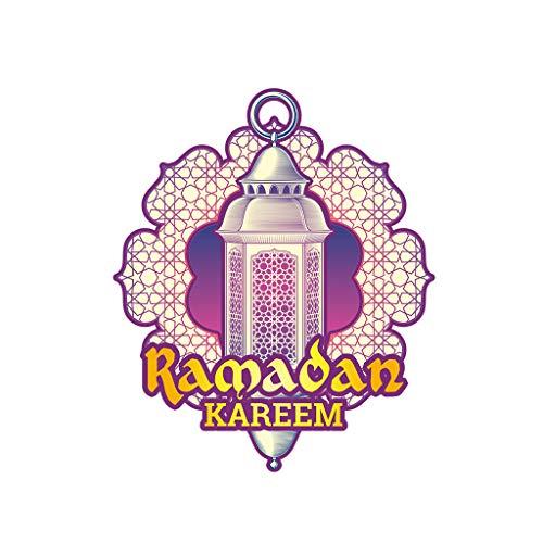 Wulofs Muslim Islam Ramadan Lantern Wallpaper Festival Elements Culture Wall Stickers ()