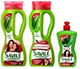 SAVILE Aloe + CHILI Shampoo & Conditioner & ARGAN Hair Comb Cream Healthy Growth Review