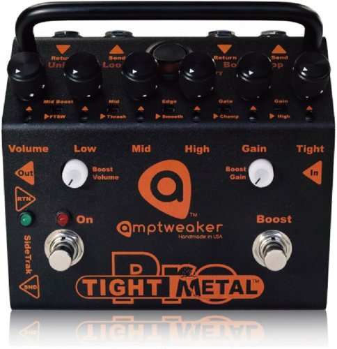 Amptweaker TightMetal Pro Distortion Effect Pedal