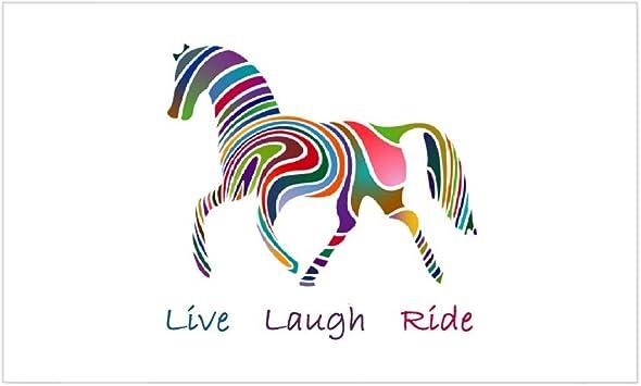 3 tamaños-Coche La vida es viaje. - caballo Ride-Diversión Pegatina De Vinilo Ipad Laptop