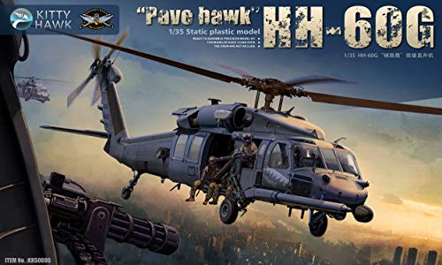 KH50006 Kitty Hawk 1/35 HH-60G Pavehawk w/2 Pilot Figures Helicopter Model Kit, 2019 Aug. Released