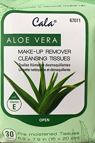 - Make-Up Remover Cleansing Tissues (Aloe Vera)