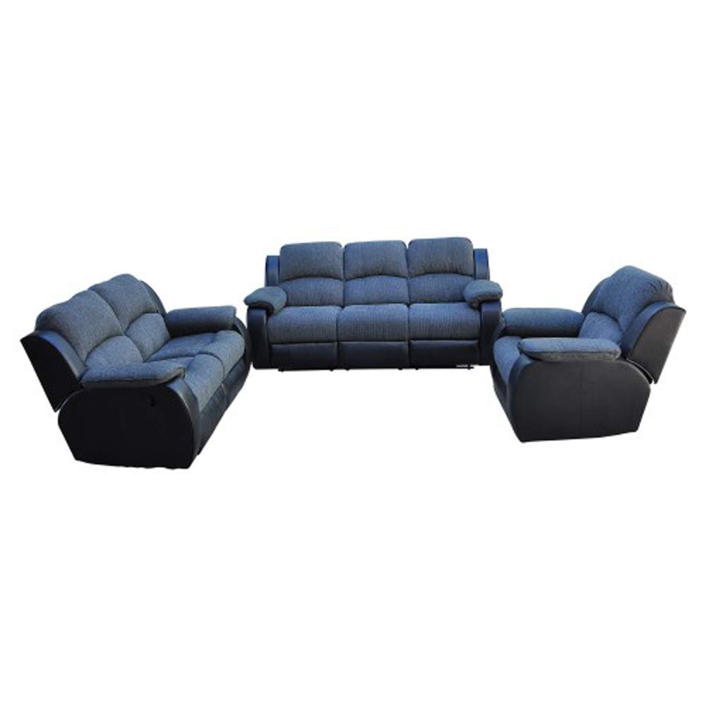 Recliner Sofa Set Sectional Sofa for living room Furniture, Manual Reclining Sofa, Home Theater Seating, Love Seat, and Sofa (3seat), Home Furniture. by romatpretty