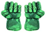 Set Of 2 ~ The Hulk Soft Smash Gloves ~ With Holding Sponge Grip Inside - 12 Inches ~ Premium Quality