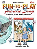 Fun-to-Play Patriotic Songs (Big Note Piano: Level 2)