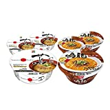 [Value Pack] TSUTA & NAKIRYU Japanese Famous Ramen Shop's Instant Noodle 3by3 Set 蔦 & 鳴龍 One Star In Michelin Of Japan