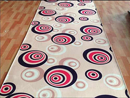 Carpet corridor carpet stair carpet soft custom long, 3D can be cut (color : C, Size : ()