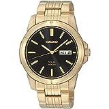 Seiko SNE100 Mens Gold Core Solar Watch
