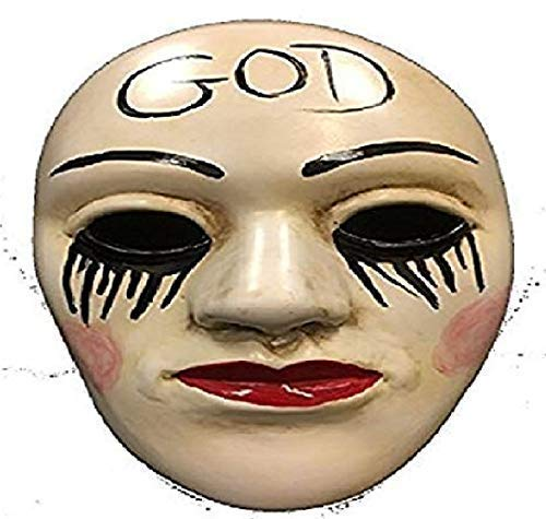 La Purga Anarquía Dios Universal HALLOWEEN MÁSCARA CON ...