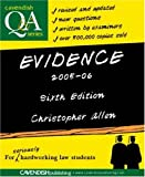 Evidence Q&A, Christopher Allen, 1859419550
