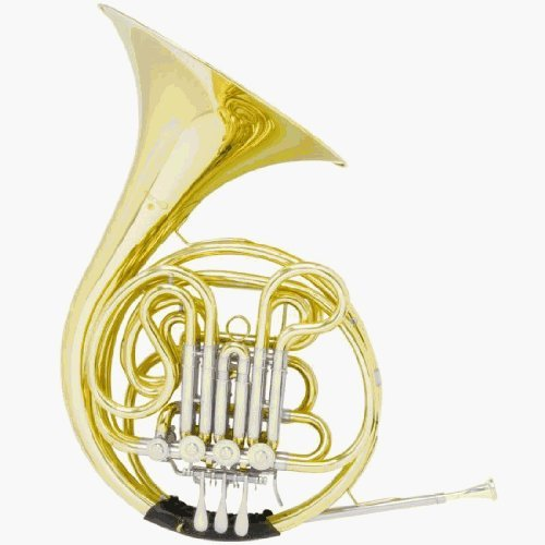 Cecilio 3Series FH-380 F/B Flat Double Intermediate French Horn by Cecilio
