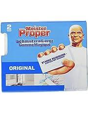 Meister Proper Vuilgum (verpakking van 2) origineel, gumspons voor stralende oppervlakken