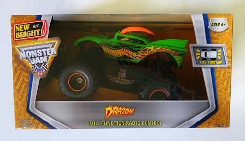 (Monster Jam New R/C Bright Dragon Full Function Radio control Car)