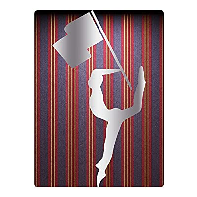 "Silk Flag Color Guard Platinum StyleBig Boy 25.6""35.5"" Beach Towel"