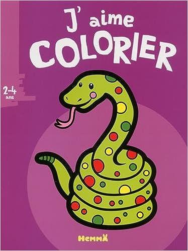 Livres gratuits J'aime colorier (2-4 ans) (Serpent) pdf ebook