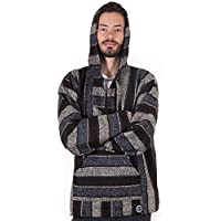 Orizaba Original Baja Hoodie | CHOOSE FROM 26 COLORS | Drug Rug | Hippie Surf Poncho | S-3XL