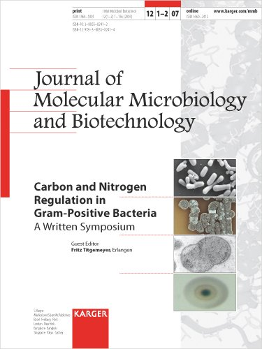 Carbon and Nitrogen Regulation in Gram-Positive Bacteria: A Written Symposium pdf