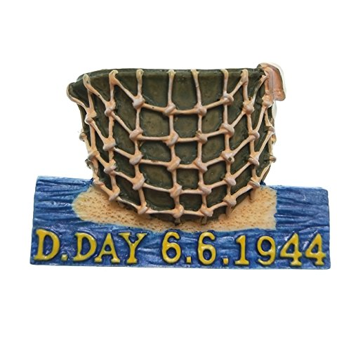 D-Day, The Normandy landings, 3D Resin Souvenir Fridge Magnet Craft Gift Idea
