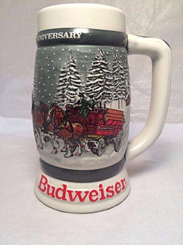 1982 BUDWEISER CLYDESDALES 50TH ANNIVERSARY STEIN