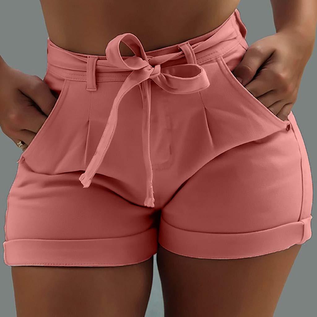 Tootu New Women Summer Shorts Denim Female Pockets Wash Denim Shorts Jeans