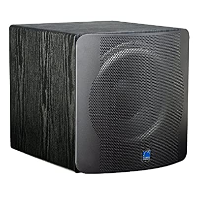 "SVS SB12-NSD - 12"", 400-watt DSP Controlled, Sealed Box Subwoofer (Black Ash)"
