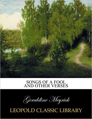 Book Songs of a fool and other verses