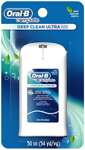 Oral-B Complete Deep Clean Ultra Floss, mint floss, 50m (54 yd/vg)