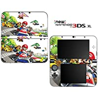 Super Mario Kart Decorative Video Game Decal Cover Skin Protector for New Nintendo 3DS XL (2015 Edition)