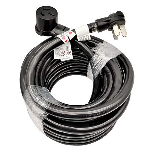 Parkworld 884821 Industrial NEMA 10-50 Extension Cord, 3-Prong, 50 AMP, 250 Volts, 12500 Watts. (50FT)