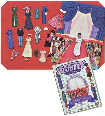 Magnetic Dolls Dress Up Fashion Show Set