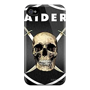 Excellent Hard Cell-phone Case For Iphone 6plus (zKf9762SRQv) Customized Fashion Oakland Raiders Skin