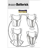 McCall's Patterns B4669 Butterick - Patrón para corsé