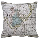 """Ophiuchus Or Serpentarius From A Celestial Atlas R7a082594d16942d1a84ea060fd4eb83e 2izwx 8byvr Pillow Case 18"""" * 18"""""""