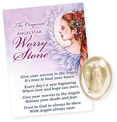 AngelStar 8717 AngeLight Angel Worry Stone, 1-1/2-Inch