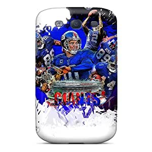 RNqmnui6174OvSvN Anti-scratch Case Cover Saraumes Protective New York Giants Case For Galaxy S3