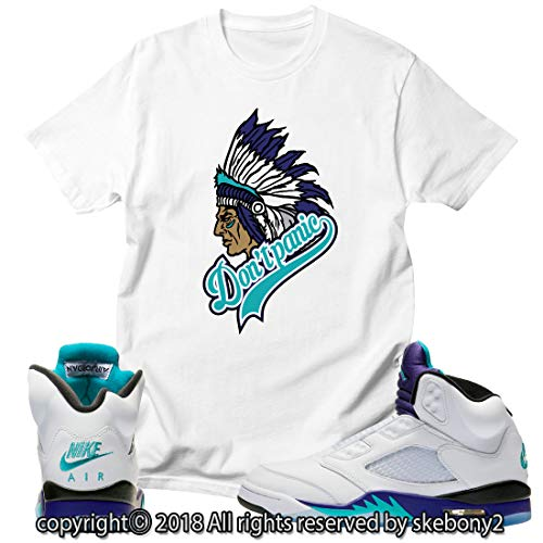 b014726ac2f789 Custom T Shirt Matching Style of AIR Jordan V Fresh Prince Grape JD 5-1-13-6