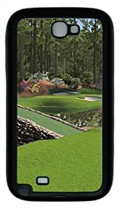 12th Augusta National Hard PC For HTC One M7 Case Cover - Black