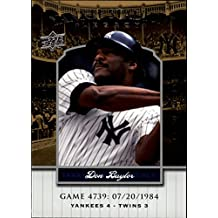 2008 Upper Deck Yankee Stadium Legacy Collection #4739 Don Baylor - NM-MT