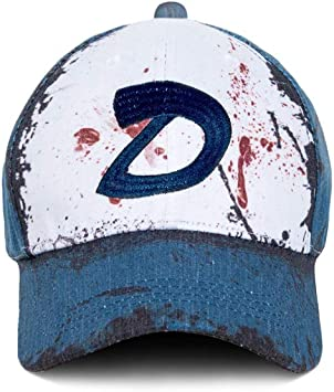 Mesky EU Gorra de Bésibol The Walking Dead Gorro Clementine Hat ...