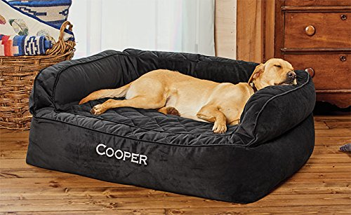 Orvis Memory Foam Couch Dog Bed Small Dogs Up To 18 Kg, Slate,