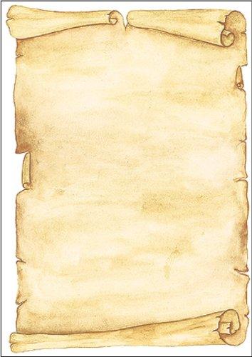 SIGEL DP153 Papel de cartas, 21 x 29,7 cm, 90g/m², Pergamino, beige, 100 hojas