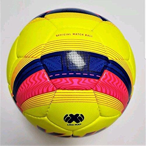 c3aaf7b4f Amazon.com : Voit Official match FIFA soccer ball lummo blaze light  Bancomer MX clausura 2018 size 5 : Sports & Outdoors